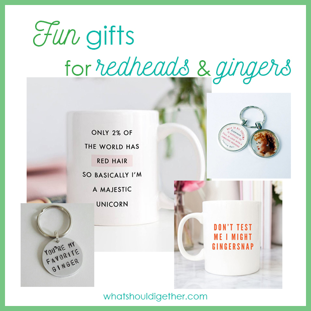 Funny Gifts For Redheads